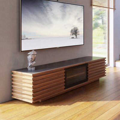 Carter 79 TV Stand Color: Walnut