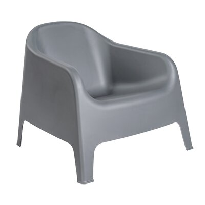 Mitzi Lounge Chair (Set of 4) Finish: Dark Gray