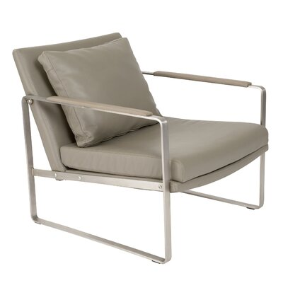 Coleman Lounge Chair Upholstery Color: Dark Taupe
