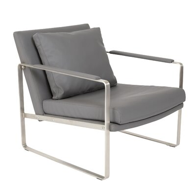 Coleman Lounge Chair Upholstery: Dark Gray