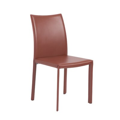 Curtis Side Chair Upholstery Terracotta Dining Room Side Chair