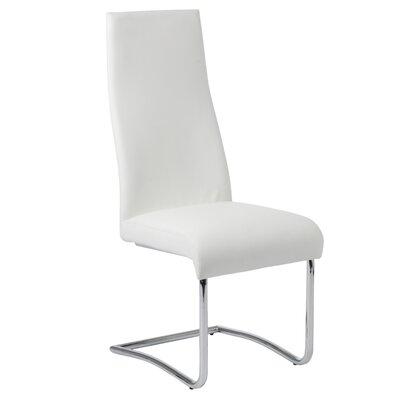 Dario Side Chair Color: White