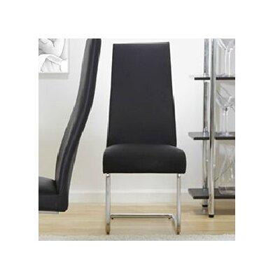 Dario Side Chair Color: Black