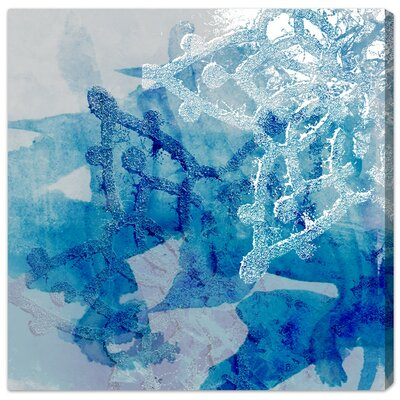 'Nieve Dos' Graphic Art on Canvas Size: 12