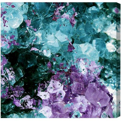 Amethyst Love Painting Print on Wrapped Canvas
