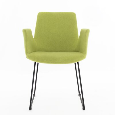 Joziah Arm Chair	 Color: Lime Green
