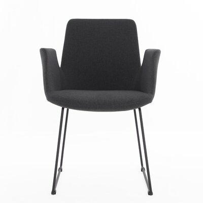 Joziah Arm Chair Color: Dark Gray
