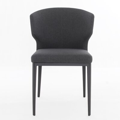Tomas Side Chair Color: Dark Gray