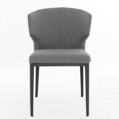 Tomas Side Chair Color: Warm Gray