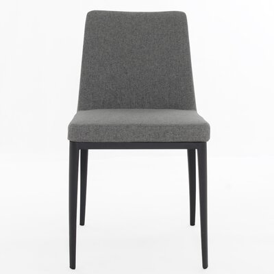 Agustin Side Chair Upholstery Color: Warm Gray