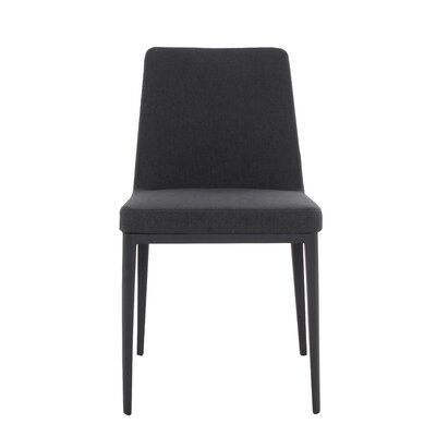 Agustin Side Chair Upholstery Color: Dark Gray