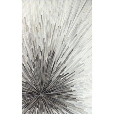 Davi Gray Area Rug Rug Size: 5 x 8