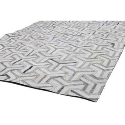 Davi Handmade Grey Area Rug Rug Size: 8 x 10