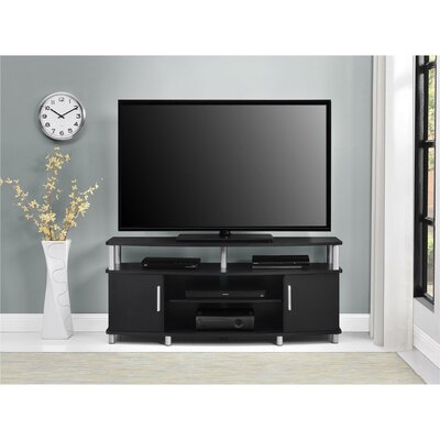 Elian TV Stand Color: Black, Size: 63 W