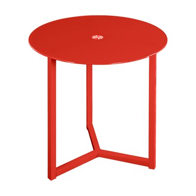 Emmet End Table Color: Red