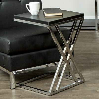 Mapleton End Table Finish: Black