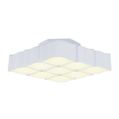 Epione 9-Light Flush Mount