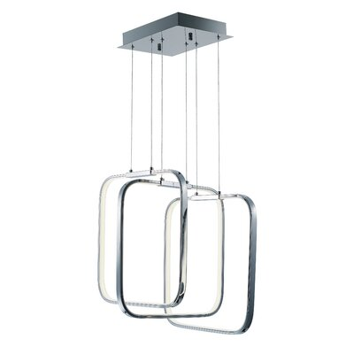 Hesperus 3-Light LED Foyer Pendant