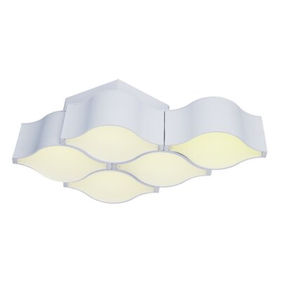Epione 5-Light Semi Flush Mount