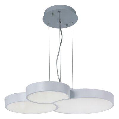 Francesco 3-Light Geometric Pendant