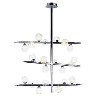 Daphne 21-Light Kitchen Island Pendant