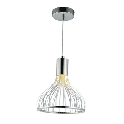 Dryades 1-Light Mini Pendant Size: 8.75 H x 8 W x 8 W