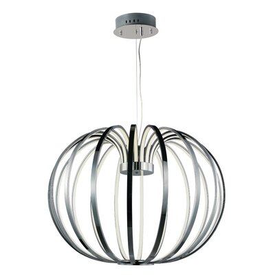 Alderamin 18-Light Metal Foyer Pendant Size: 19 H x 27.5 W x 27.5 D