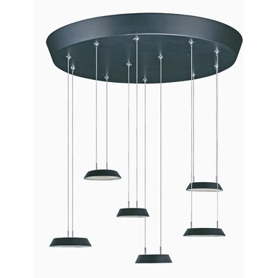 Albali 6-Light Kitchen Cascade Pendant