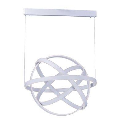Roselyn 1-Light Globe Pendant