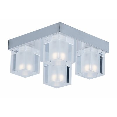 Algedi 4-Light Flush Mount