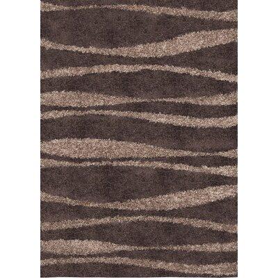 Fabian Brown/Beige Area Rug Rug Size: 26 x 17