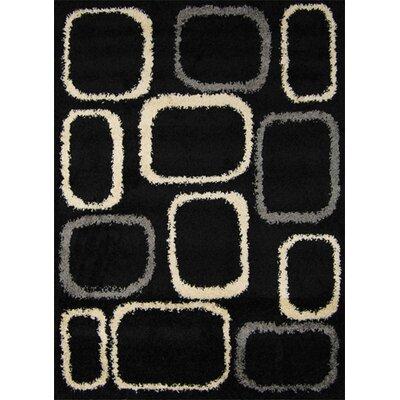 Fabian Black/Ivory Area Rug
