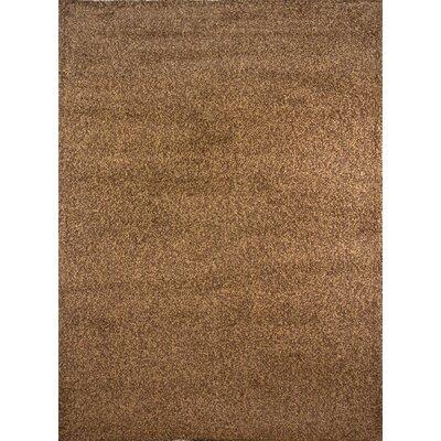 Fabian Brown Area Rug Rug Size: 78 x 104