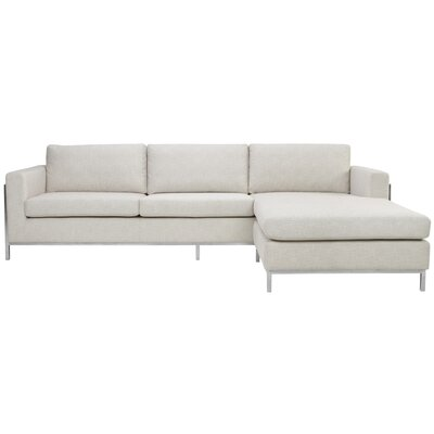 WADL8867 32467403 Wade Logan Off White Sectionals