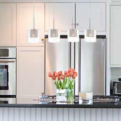 Cephas 4-Light Kitchen Island Pendant