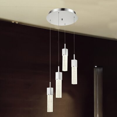 Cass 4-Light Foyer Pendant