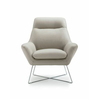 Ishaan Armchair Upholstery: Light Gray