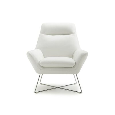 Ishaan Armchair Upholstery Color: White