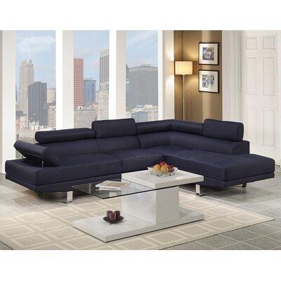 Wade Logan WADL2999 26283636 Clandown Vegas Sectional Upholstery