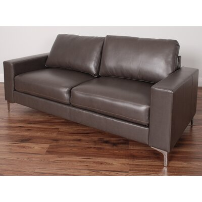 Greysen Contemporary Sofa Upholstery: Brown