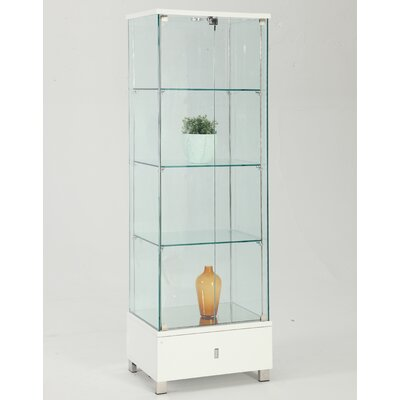 Khadim Lighted Curio Cabinet