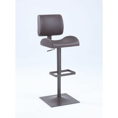 Henrique Adjustable Height Bar Stool