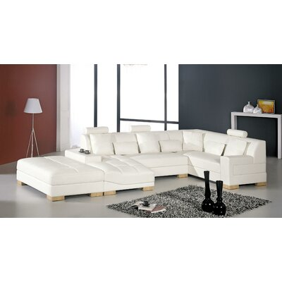 Burkey Sectional with Ottoman