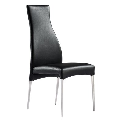 Beier Side Chair Upholstery: Dark Gray