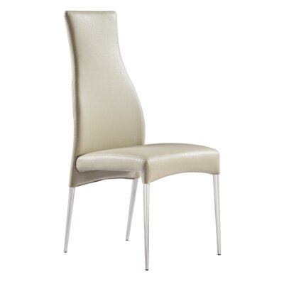 Beier Side Chair Upholstery: Taupe