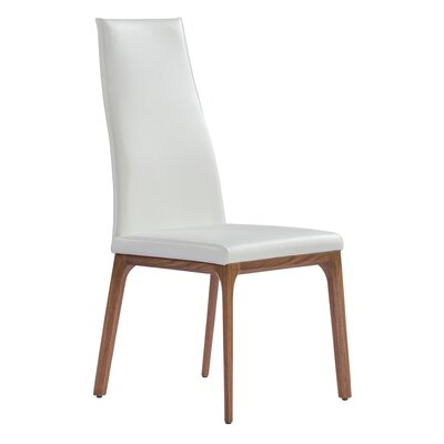 Bayerl Side Chair Upholstery: White