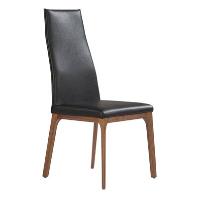 Bayerl Side Chair Upholstery: Dark Gray
