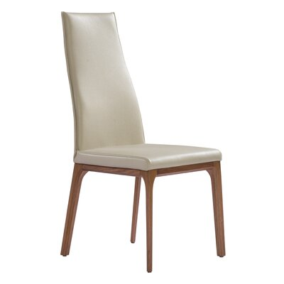 Bayerl Parsons Chair Upholstery: Taupe