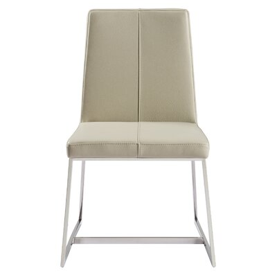 Aquino Parsons Chair Upholstery: Taupe