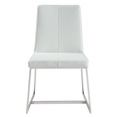 Hank Parsons Chair Upholstery: White